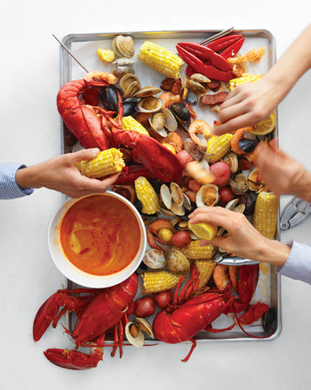 Clambake and Seafood Boil Recipes