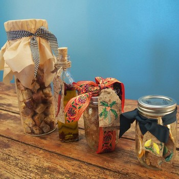 Four Homemade Gifts Right from Your Pantry