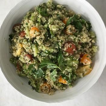 healthy appetite parsley-whole grain salad