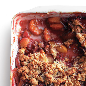 Turn Any Summer Fruit into a Crumble