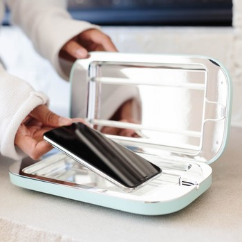 phonesoap cleansing device for cell phones