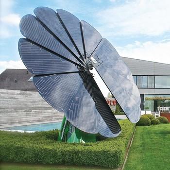 smart flower solar panel