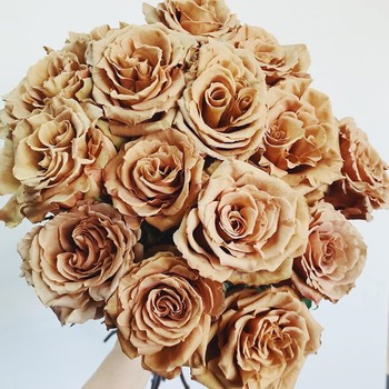 toffee rose bouquet