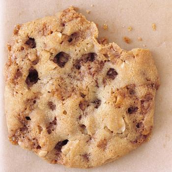 Peanut-Toffee Chip Cookies