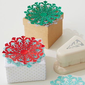 Snowflake Gift Box Toppers