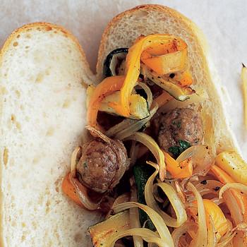 Easy Meatball Hero Sandwich