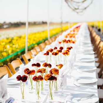 field to vase tablescape