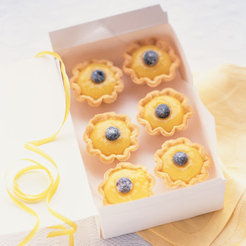 Lemon-Blueberry Petits Fours