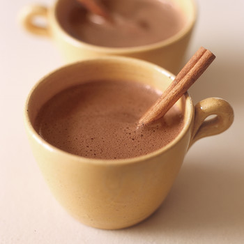 Spicy Hot-Chocolate with Cinnamon