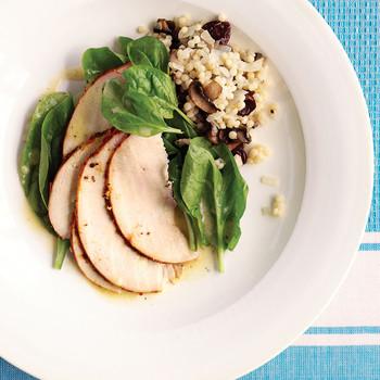 Turkey with Two Salads