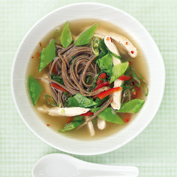 Quick Asian Chicken Soup