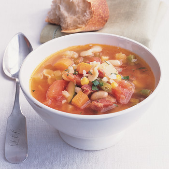 Minestrone with Pancetta
