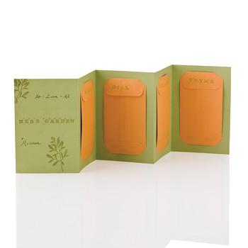 Herb Garden Seed Card