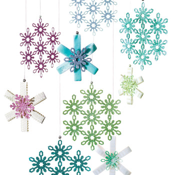 17 Snowflake Ornaments That'll Guarantee a White Christmas
