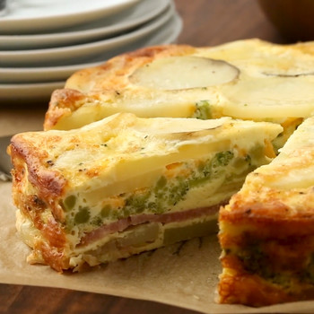Watch: Ham-and-Potato Bake