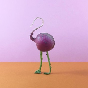These Mega-Cute Mini Vegetable Sculptures Have a Positive Message