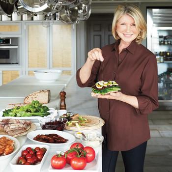 Martha's Favorite Leftover Thanksgiving Turkey Sandwiches