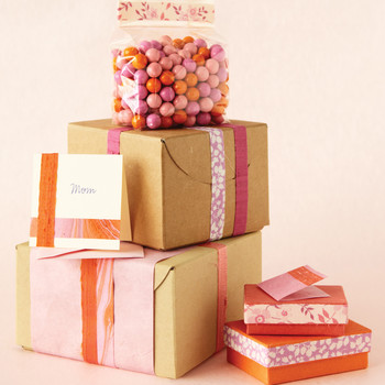 Reuse Scrap Wrapping Paper