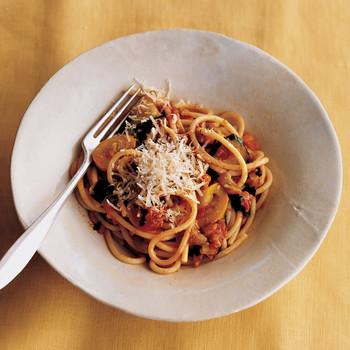 Spaghetti with Garden Vegetables (Spaghetti Dell'Ortolano)