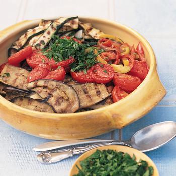 Grilled Ratatouille Nicoise