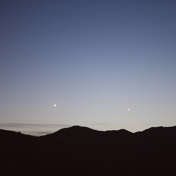 venus and mercury in sky