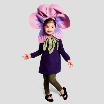 violet kid halloween costume