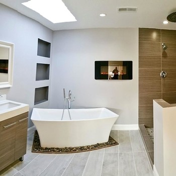 Before & After: See How an Outdated '80s Bathroom Becomes a Luxurious Retreat
