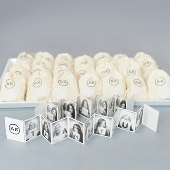Accordion Photo Wedding Favors