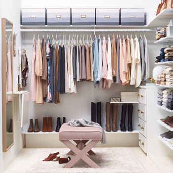 Closet Solutions: Dressed Up and Practical