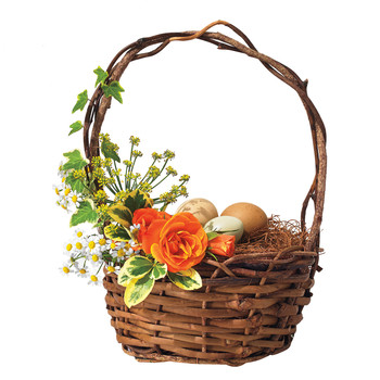 Floral Easter Centerpiece