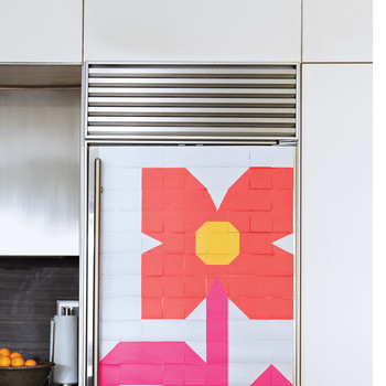 Fridge Flower Mosaic