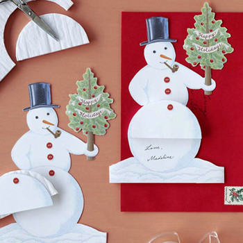 Snowman Card How-To