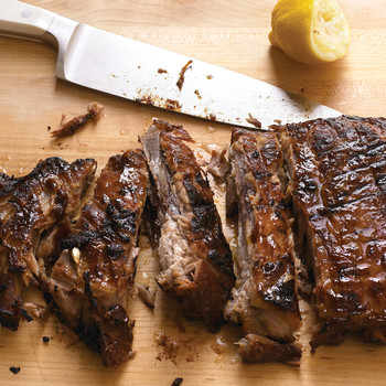 Honey-Chipotle Glazed Ribs