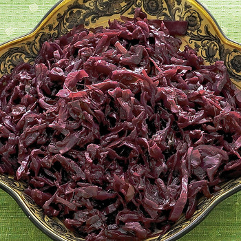Brown-Sugar-Spiced Red Cabbage