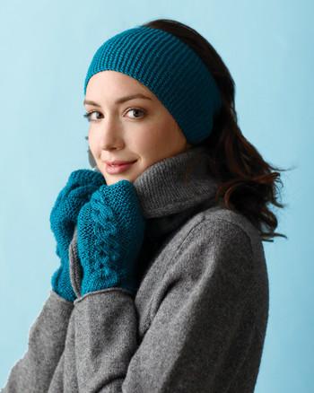 c48f0eaf46e Garter-Stitch Headband and Mittens