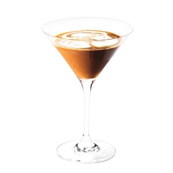 Vodka-Mocha Cocktail