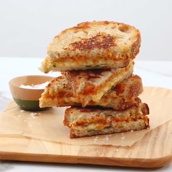 Watch: Pumpkin Grilled Cheese