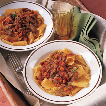 Pappardelle with Osso Buco Sauce