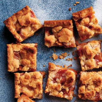 Peach-Pie Crumble Bars
