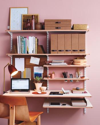 Innovative hidden home office computer desk Möbel Home Office Design Ideas Martha Stewart Desk Organizing Ideas Martha Stewart