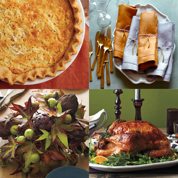 Thanksgiving Recipes and Decor