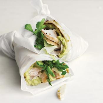 Turkey, Avocado, and Cress Wrap