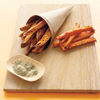 Baked Sweet-Potato Fries