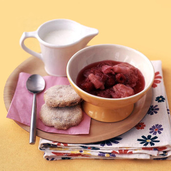 Rhubarb Raspberry Compote