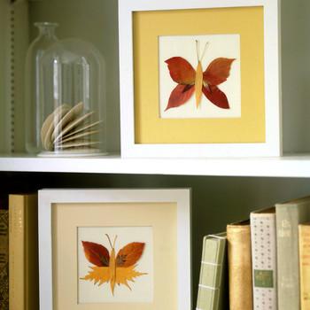 Pressed-Leaf Butterflies