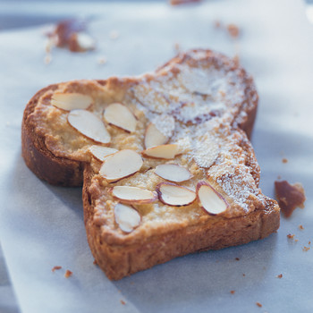 Almond Brioche Toasts