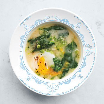 Egg-and-Miso Breakfast Soup