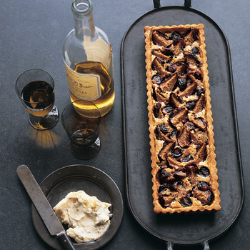 Fig and Grape Tart