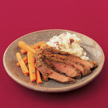 Sofrito-Marinated Flank Steak