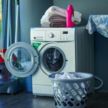 Washing Machine in Laundry Room